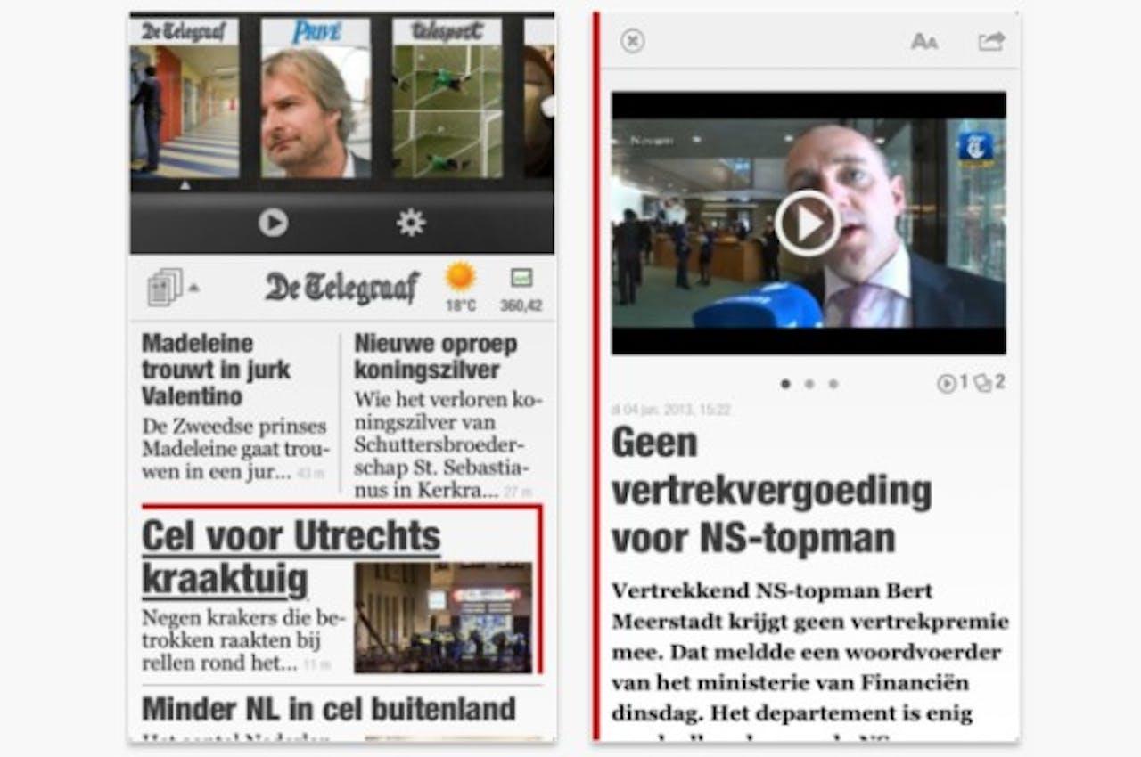 Telegraaf vernieuwt app op basis wensen lezers en adverteerders
