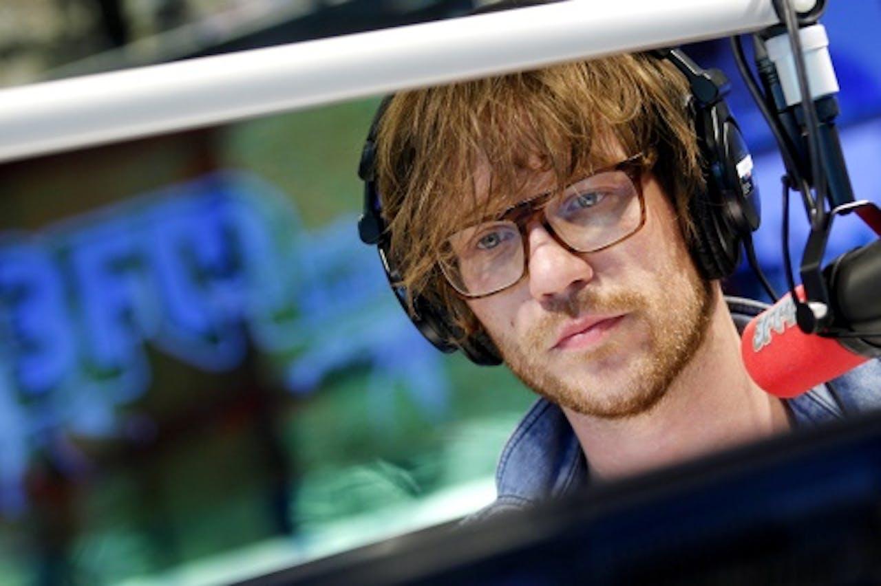 Giel Beelen, presentator van het programma De beste Singer Songwriter van Nederland. ANP Kippa