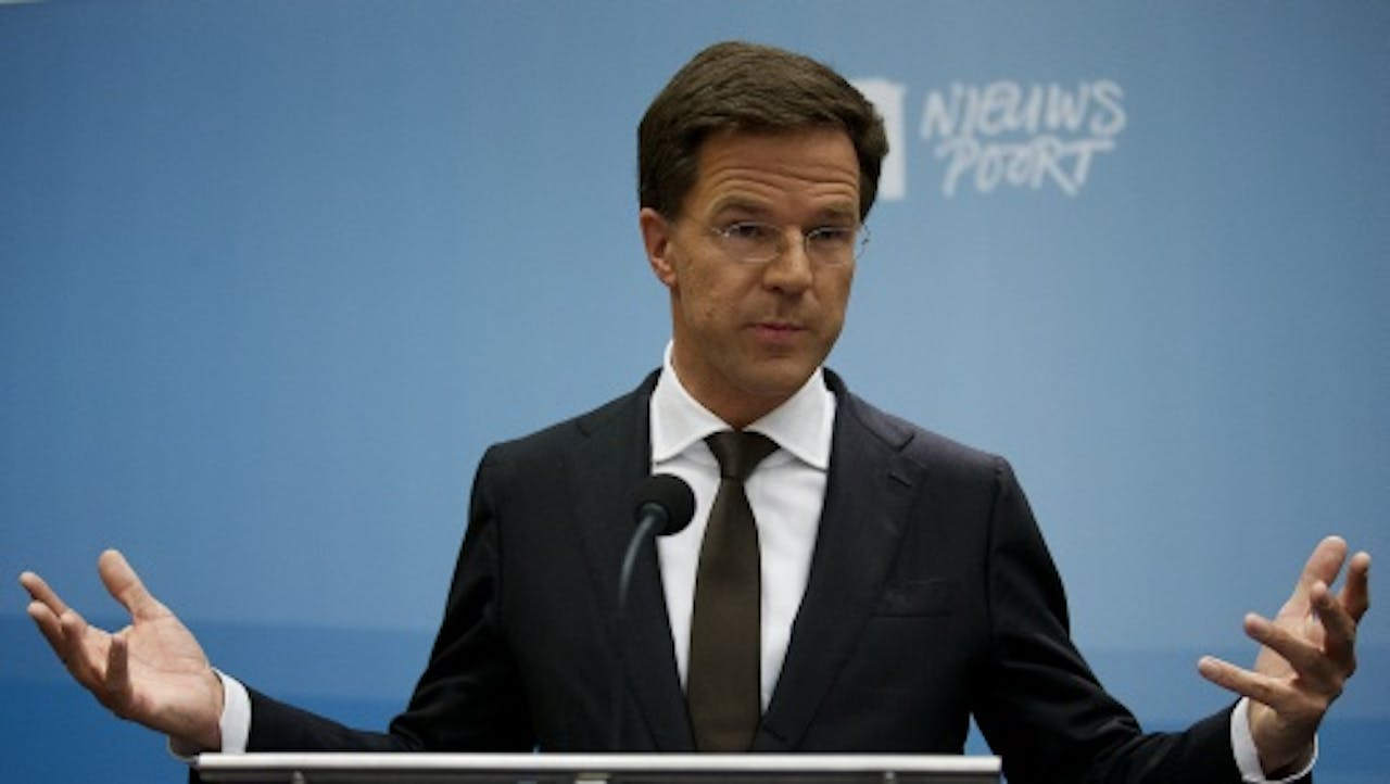 Rutte Naar Internationaal Forum Over Economie