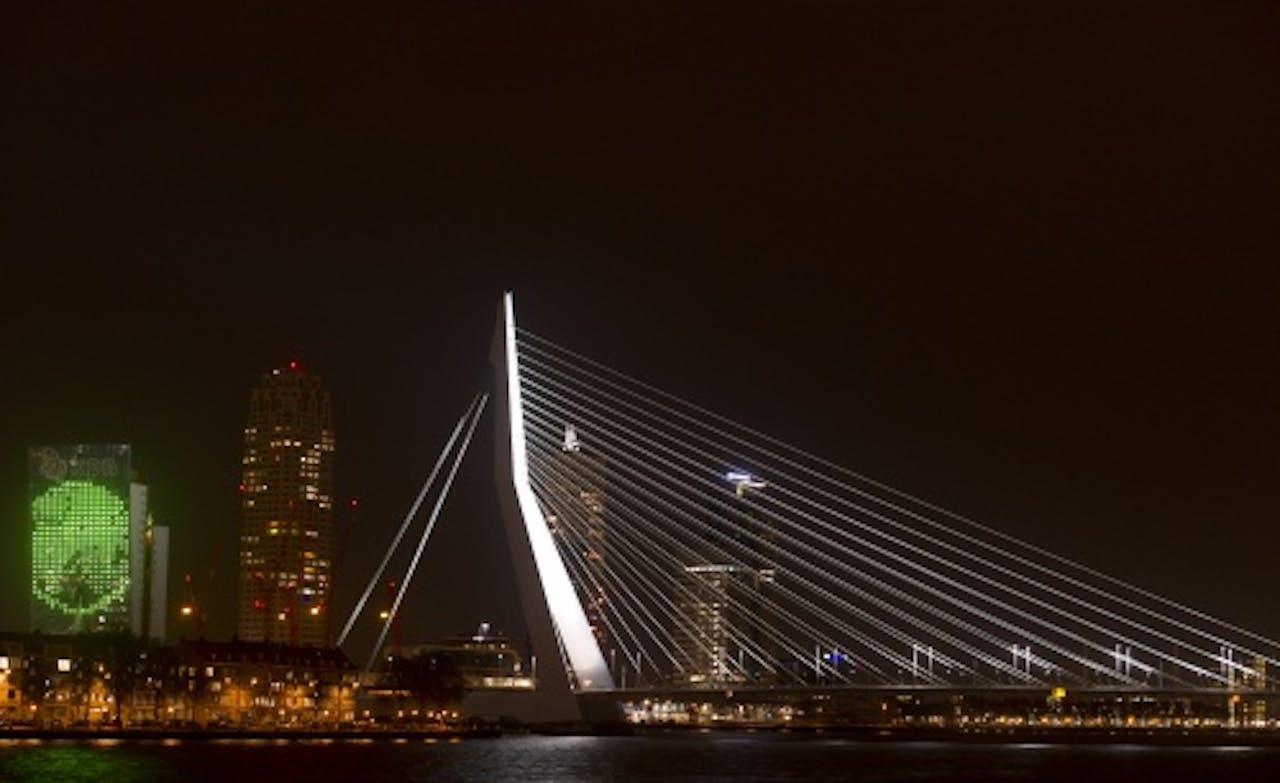 Beeld van Rotterdam. ANP