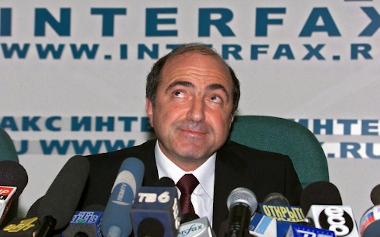Boris Berezovski in september 2000 (EPA)