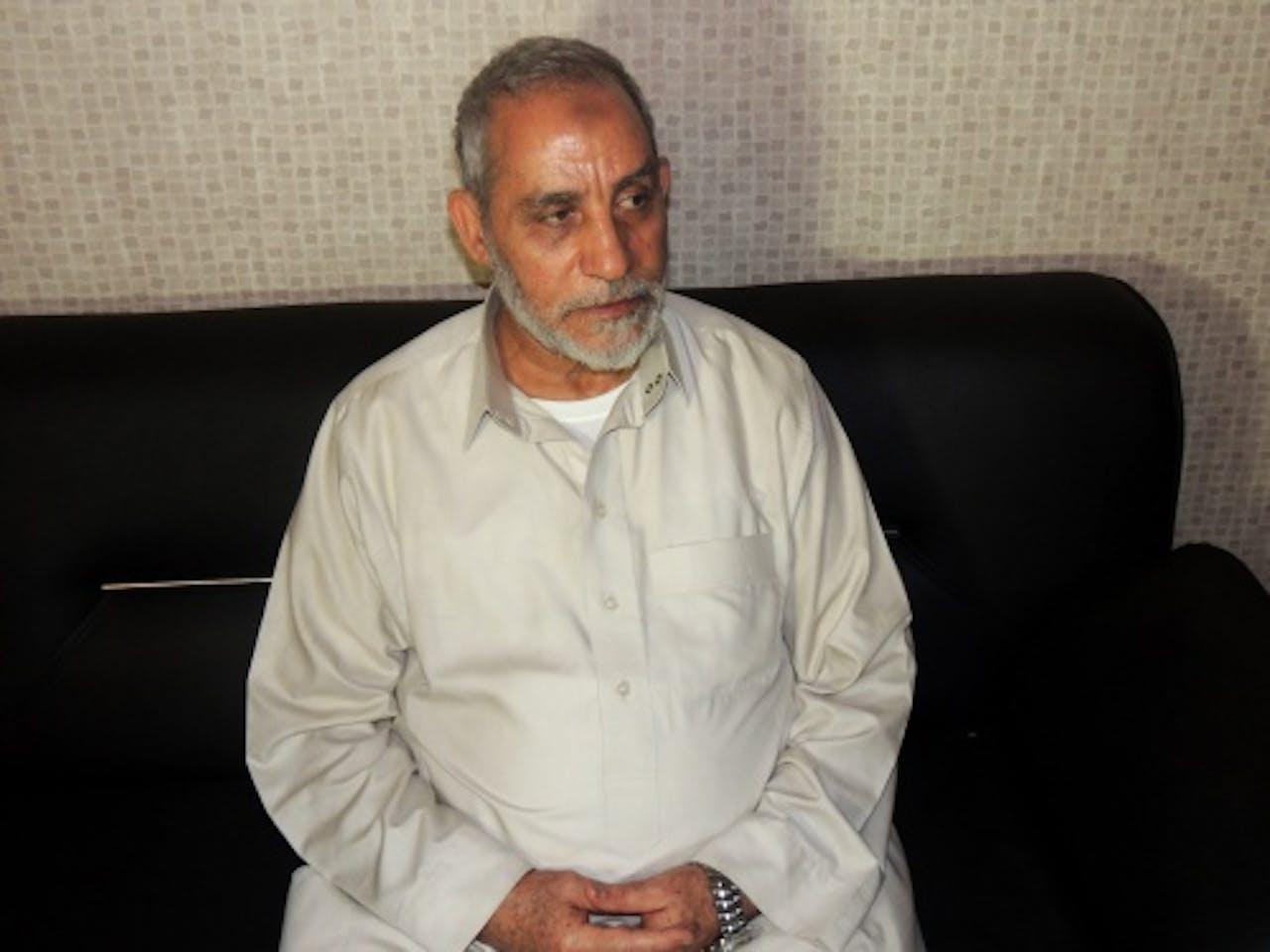 Mohamed Badie. EPA