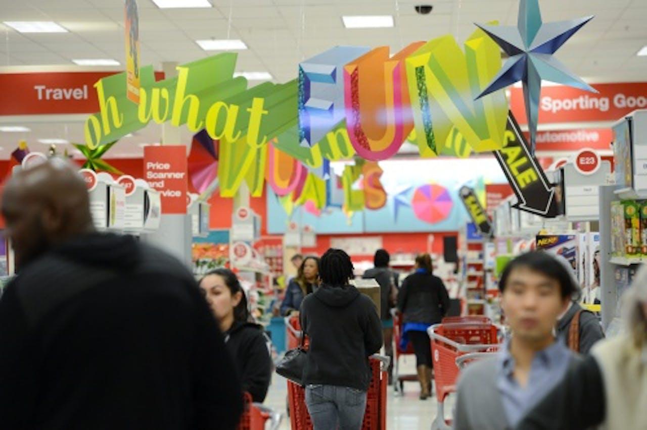 Archiefbeeld van winkel Target. EPA