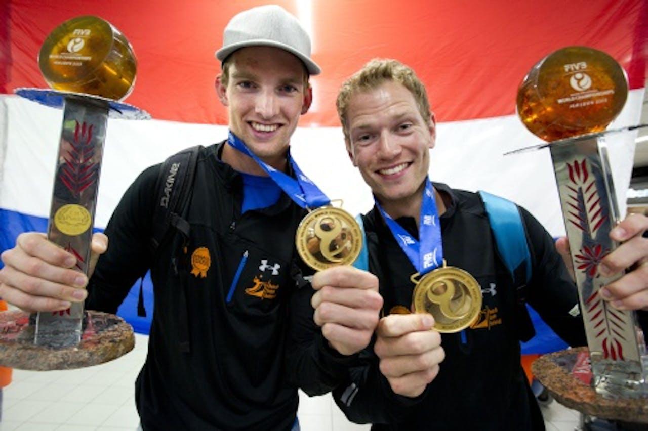 Alexander Brouwer en Robert Meeuwsen (L). ANP