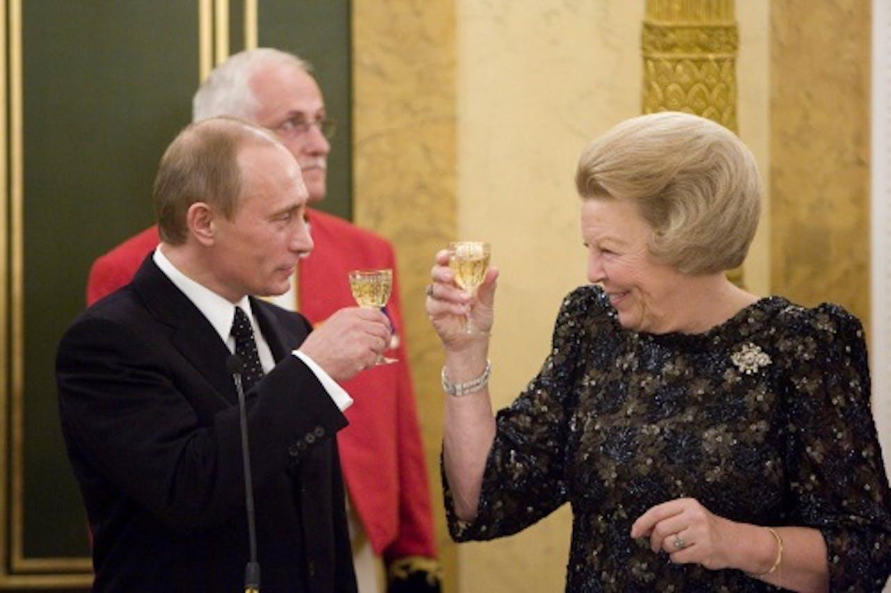 Vladimir Poetin tijdens een eerder bezoek. ANP