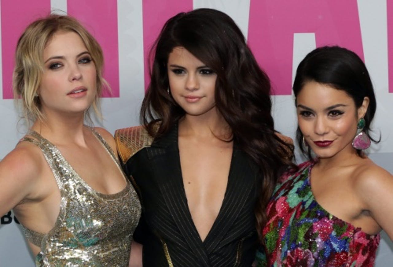 Selena Gomez (midden). EPA