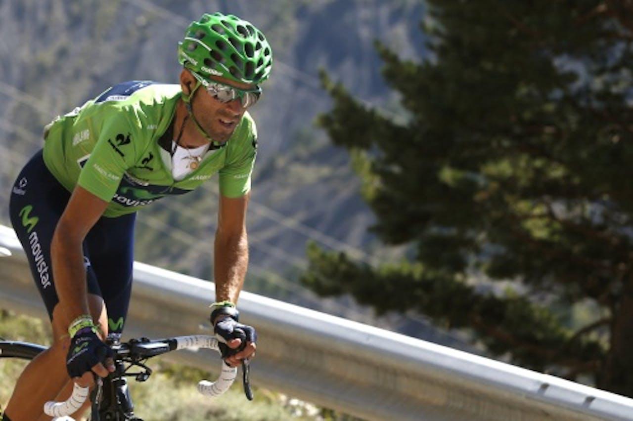 Alejandro Valverde. EPA