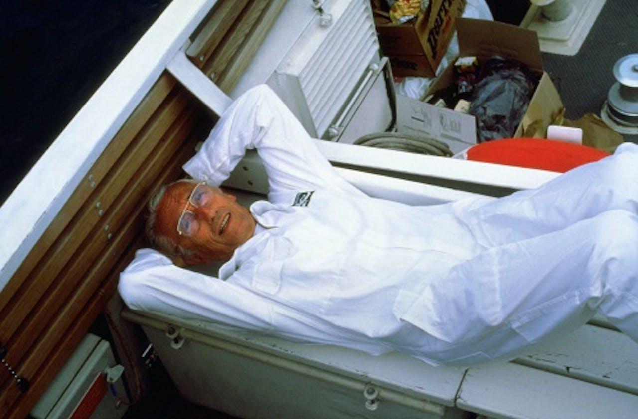 (Archieffoto 1999) Jacques Cousteau). ANP Kippa