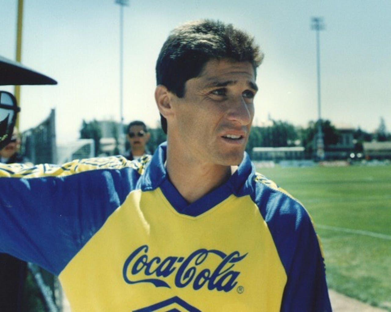 Archiefbeeld van Jorginho uit 1994. EPA
