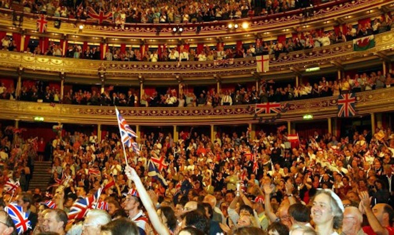 Archiefbeeld van de Last Night of the Proms uit 2003. EPA