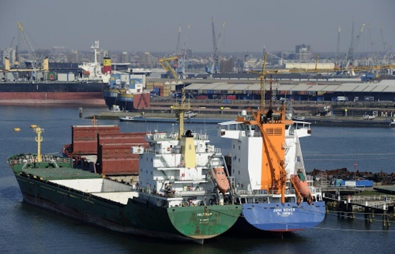 Haven Rotterdam. ANP