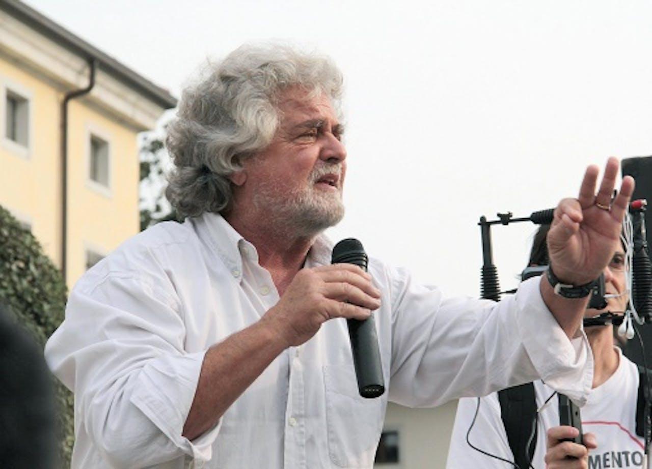 Beppe Grillo. EPA