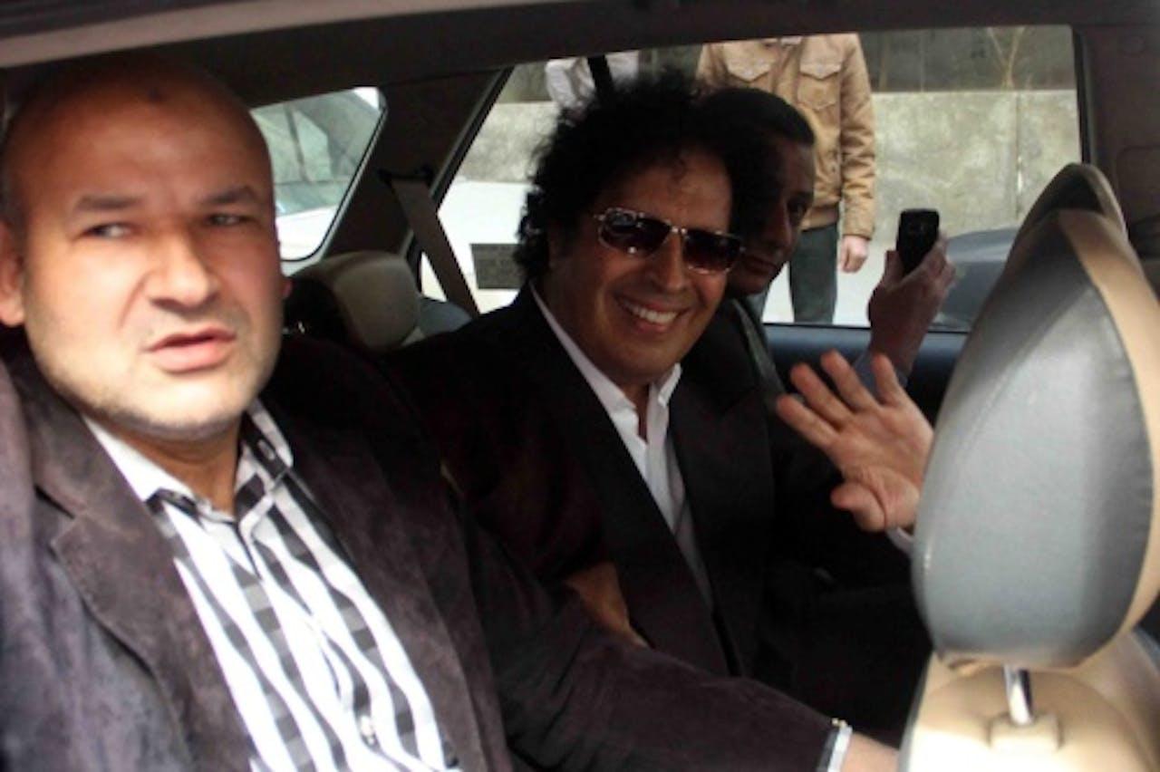 Ahmed Kaddaf al-Dam (M). EPA