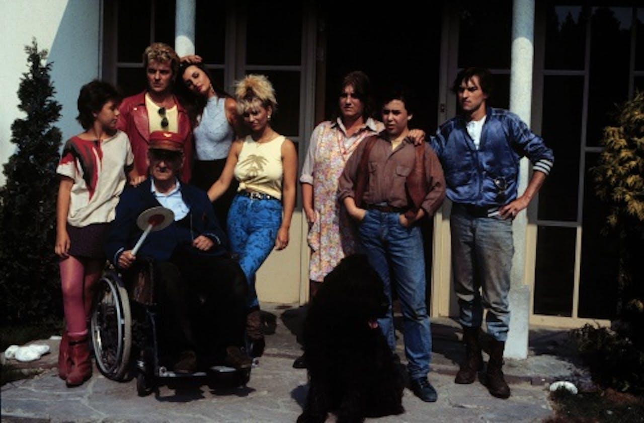 De originele familie Flodder in 1986. ANP Kippa