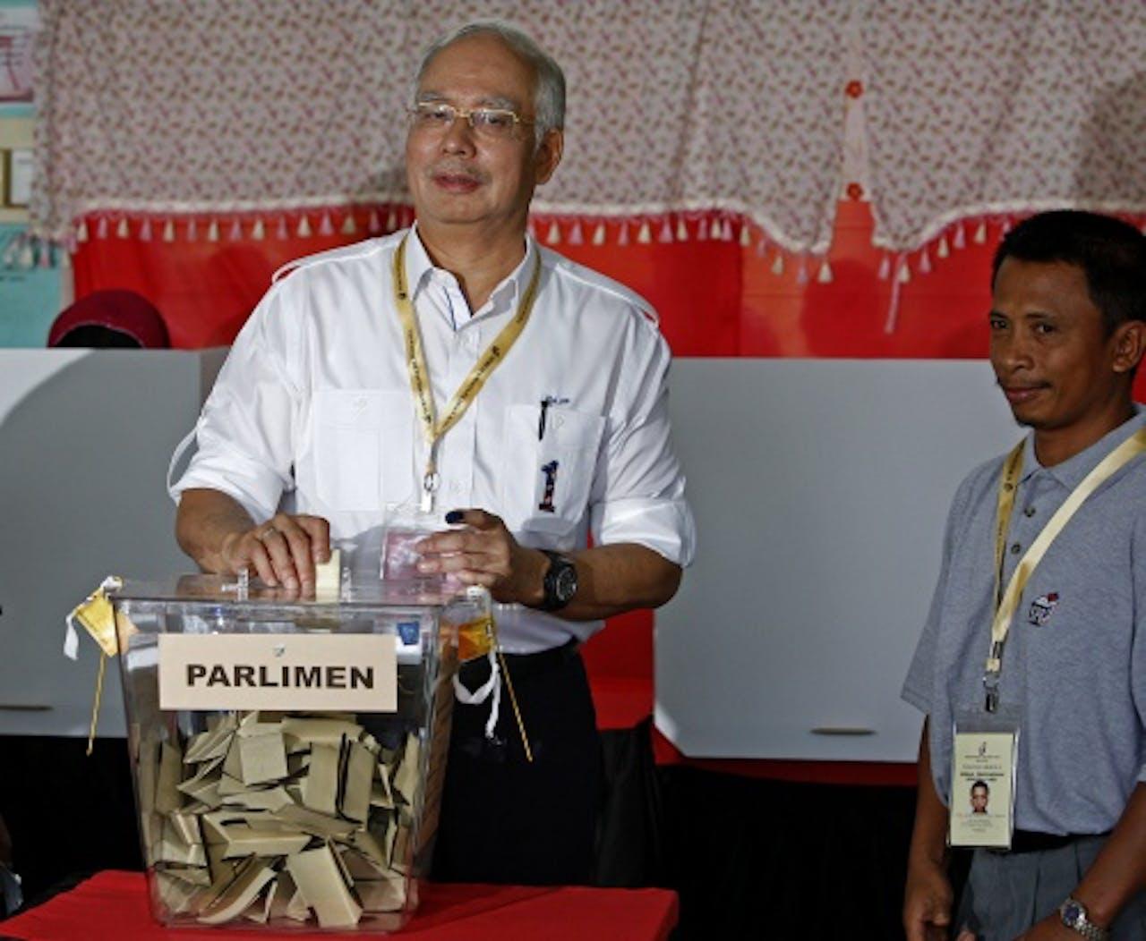 Premier Najib Razak, EPA