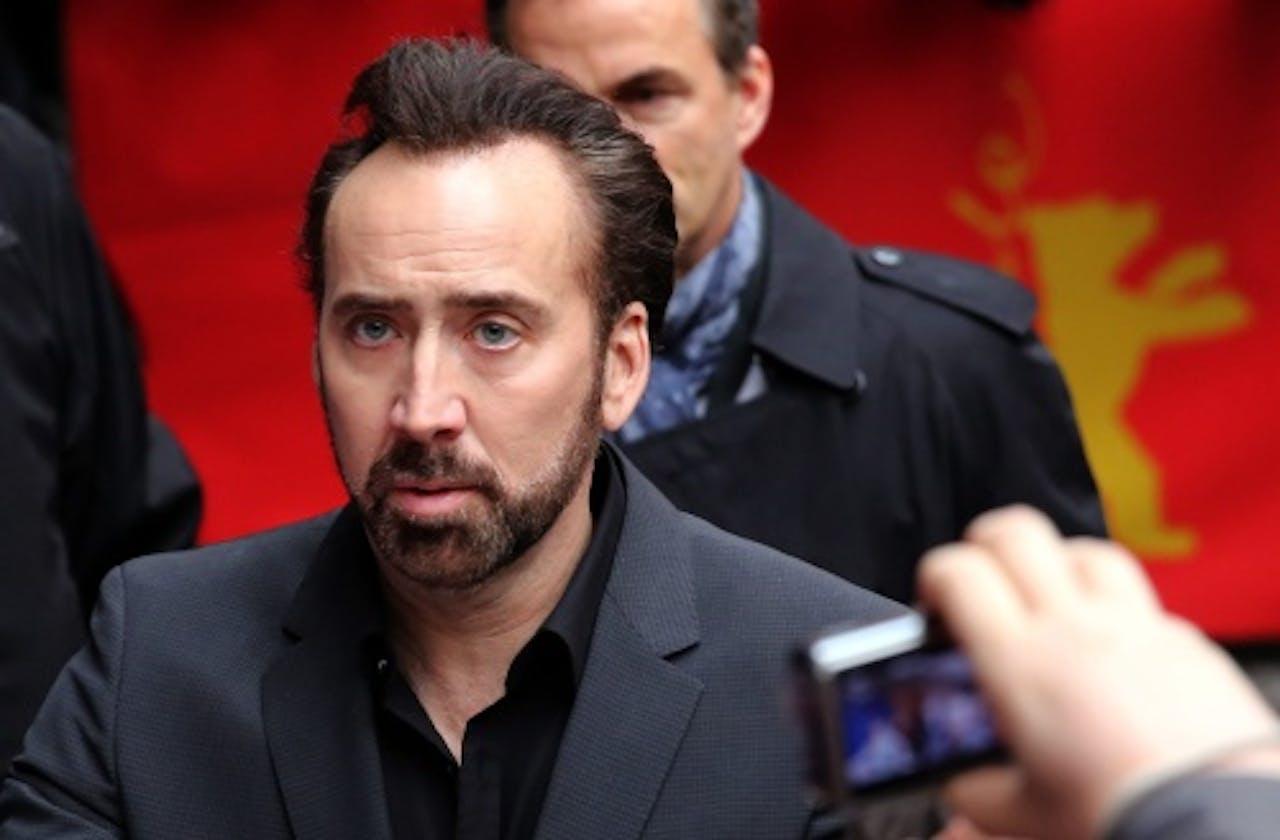 Nicolas Cage. EPA