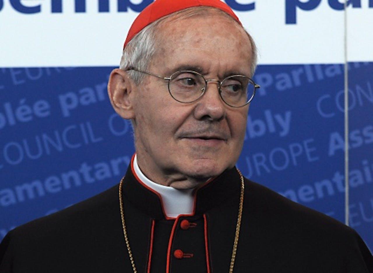 De Franse kardinaal Jean-Louis Tauran. EPA