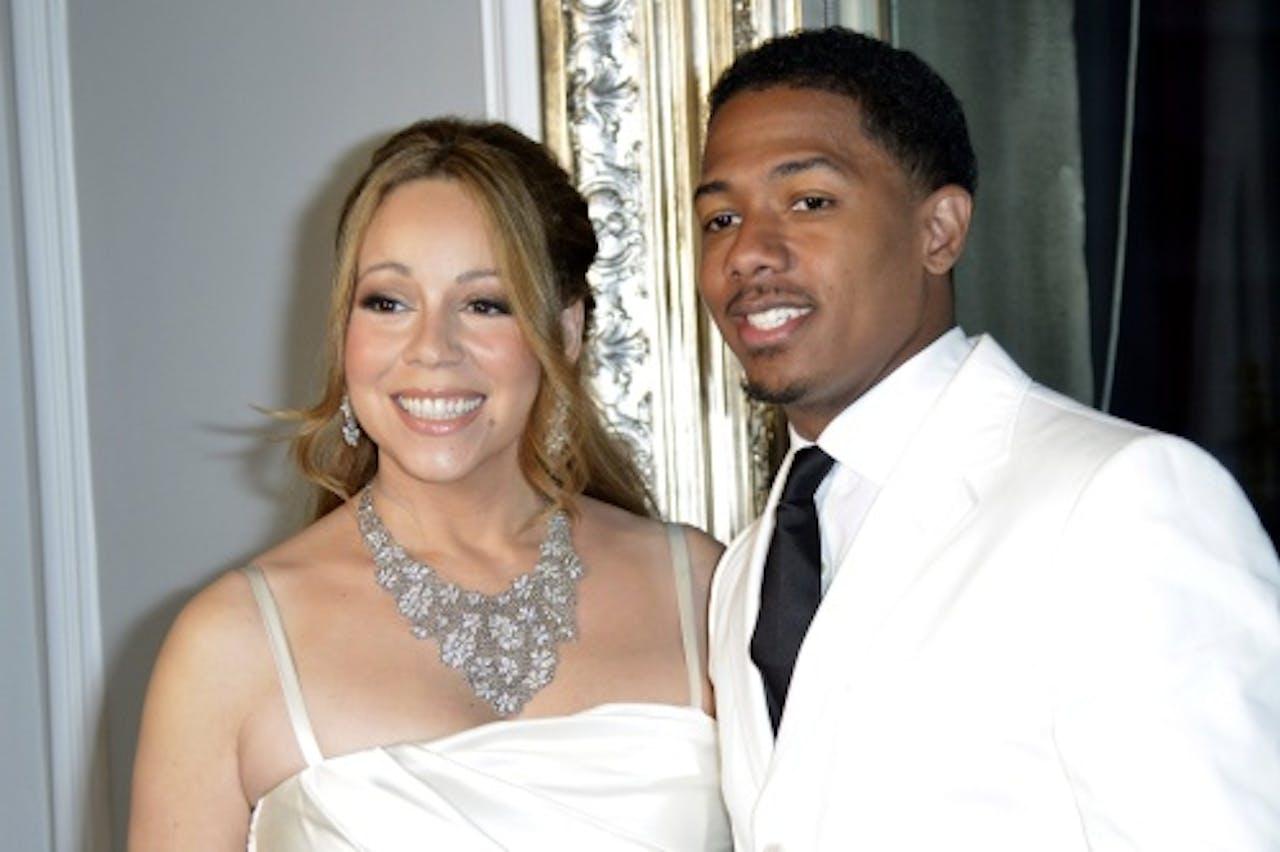 Mariah en Nick. EPA