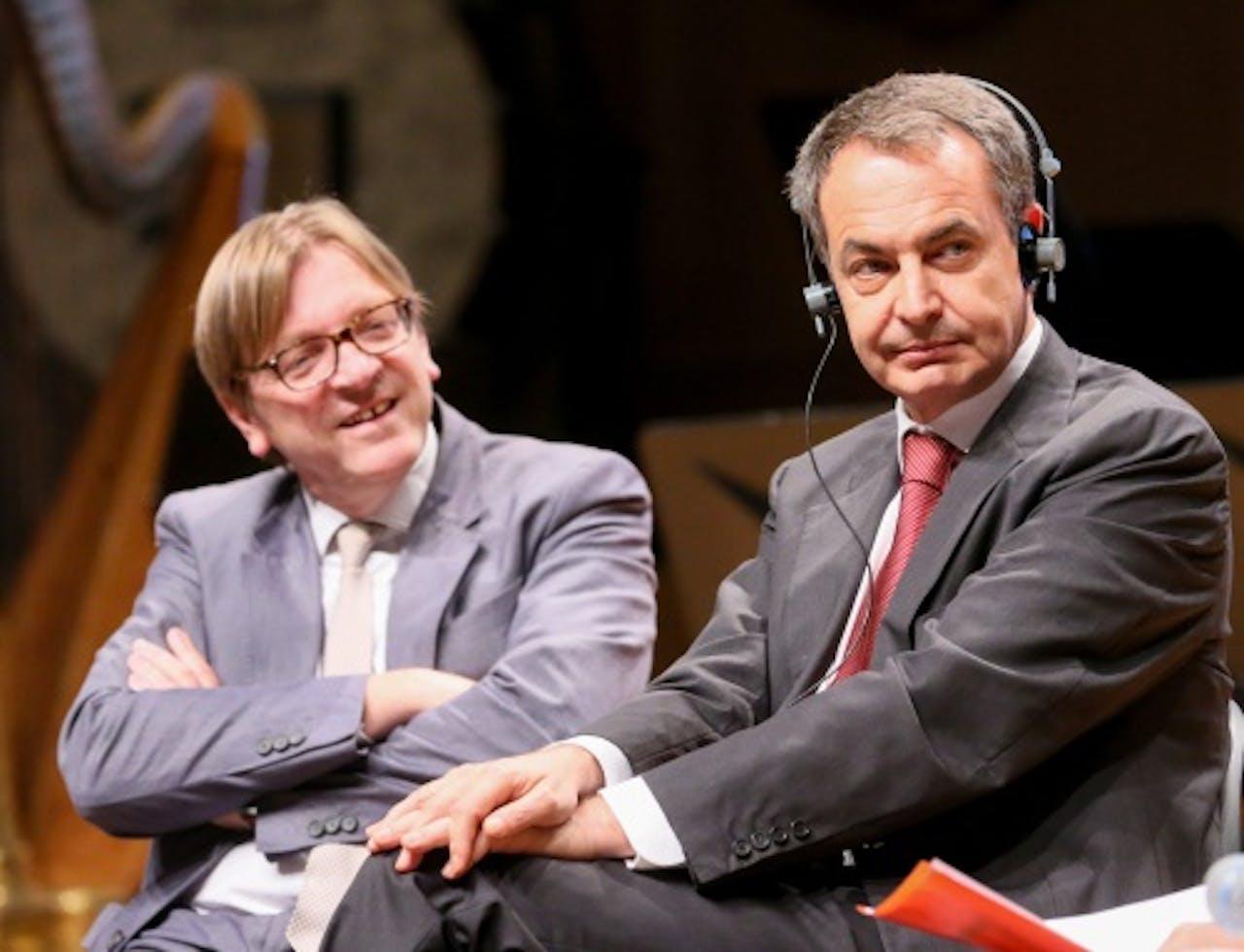 Guy Verhofstadt links (EPA)