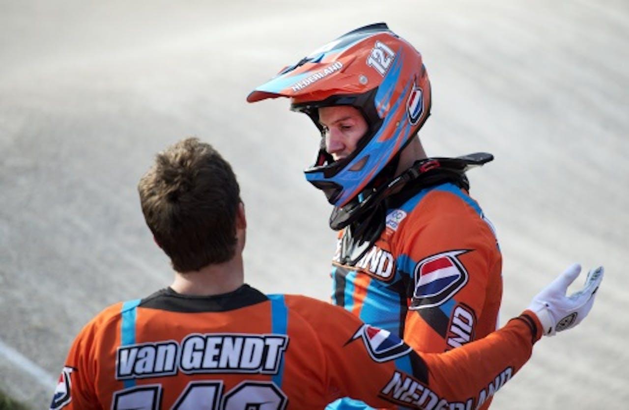 Raymon van der Biezen en Twan van Gendt. ANP