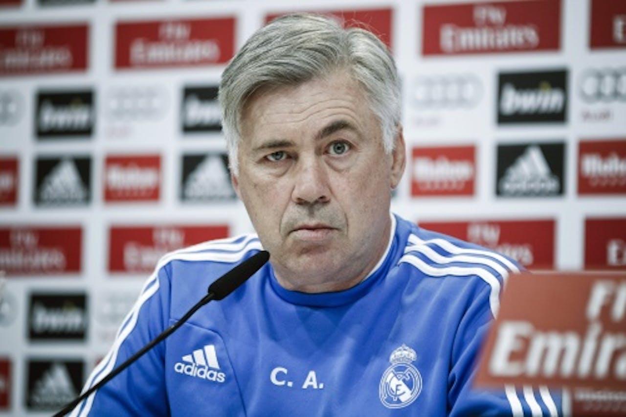 Real Madrid-coach Carlo Ancelotti (EPA)
