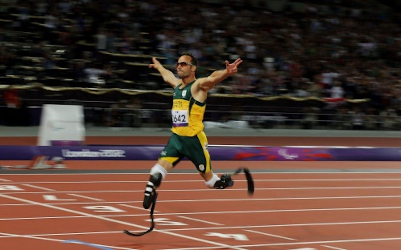 Archiefbeeld van Oscar Pistorius. EPA