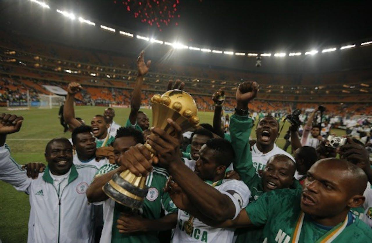 Nigeria pakt Afrika Cup