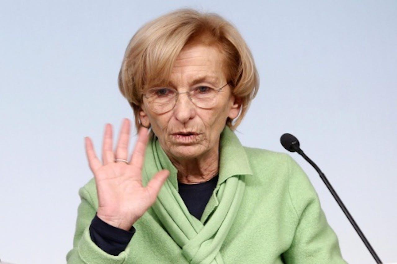 Emma Bonino, minister van Buitenlandse Zaken. EPA