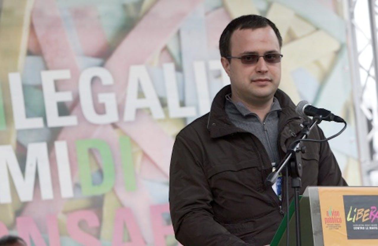Zoon van Anna Politkovskaja op archief, EPA