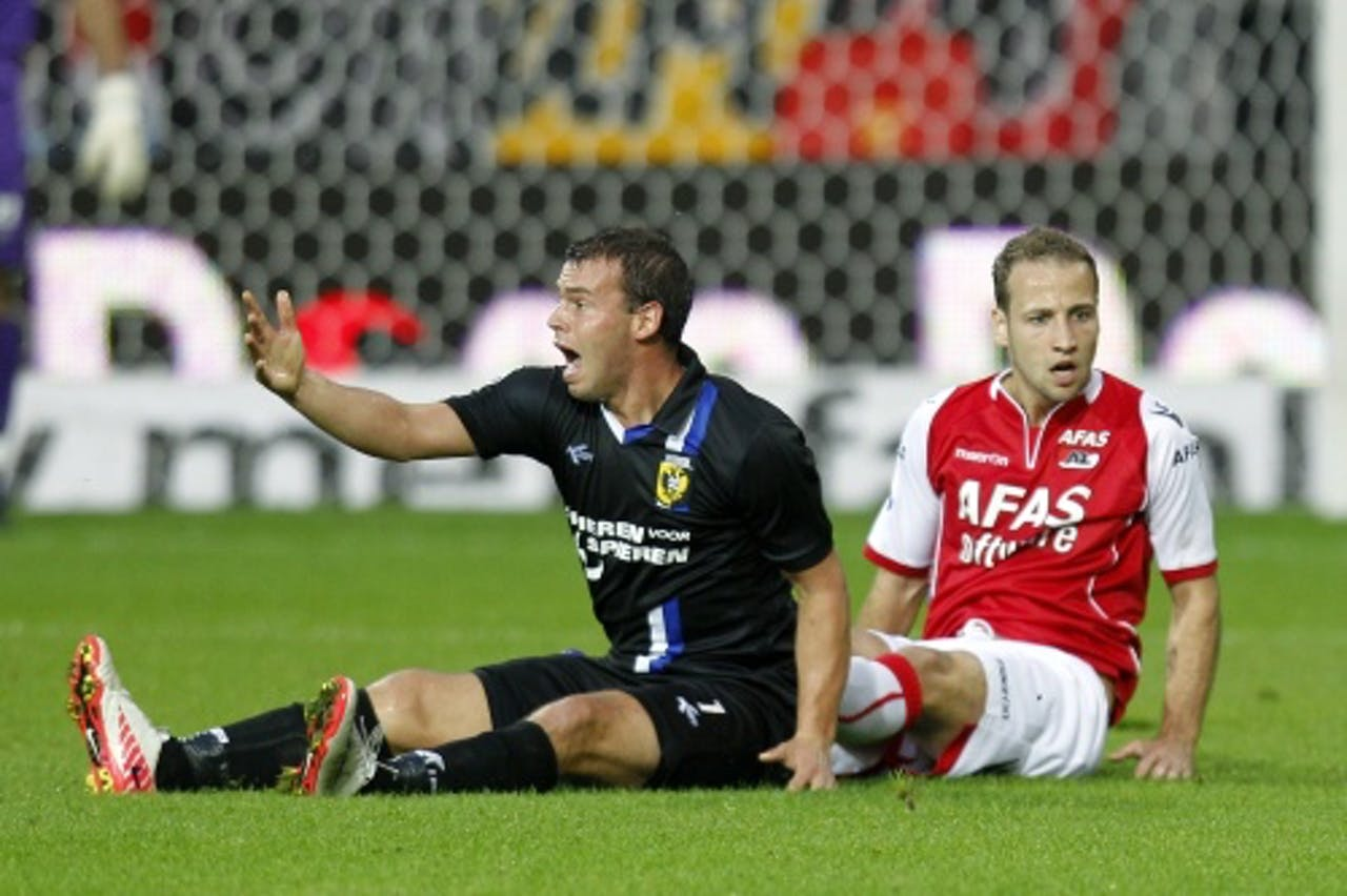Nicky Hofs (L). ANP