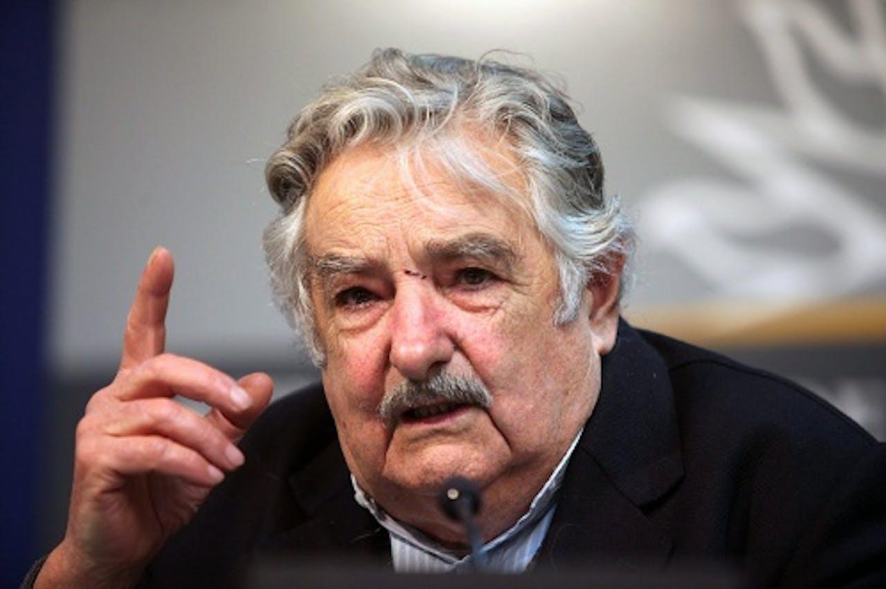 Jose Mujica. EPA