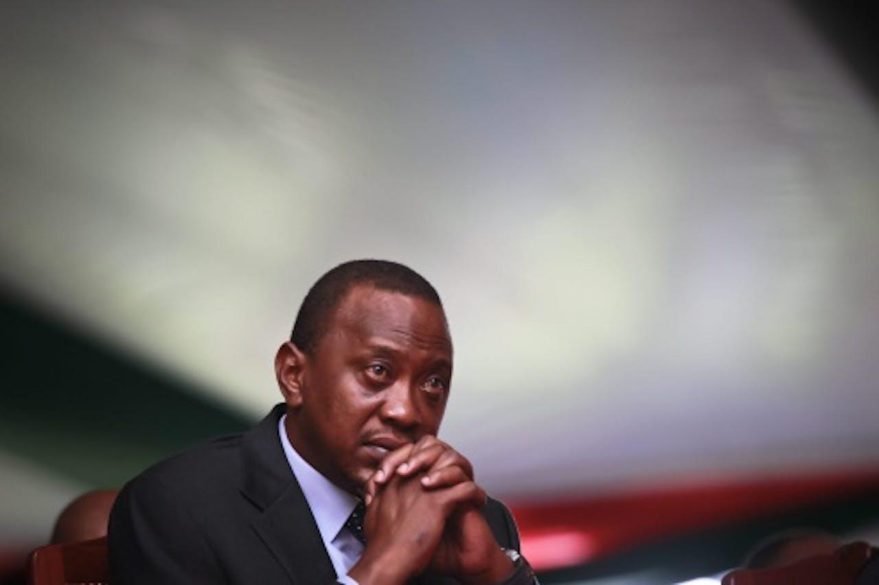 Uhuru Kenyatta. EPA