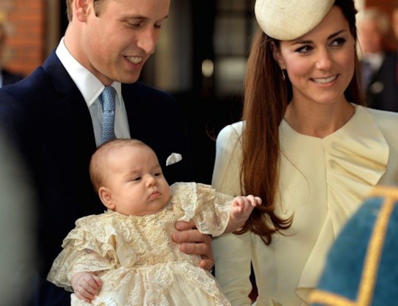 De vier maanden oude prins George staat ook op de lijst. EPA