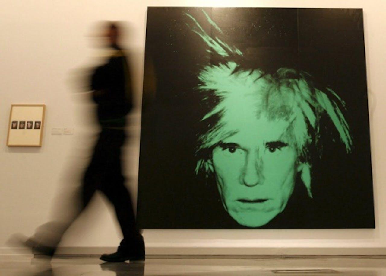 Zelfportret van Andy Warhol, EPA