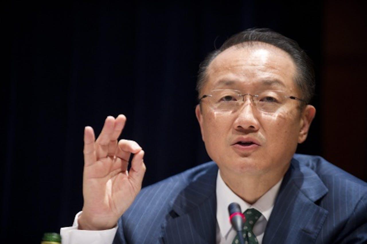 Jim Yong Kim. EPA