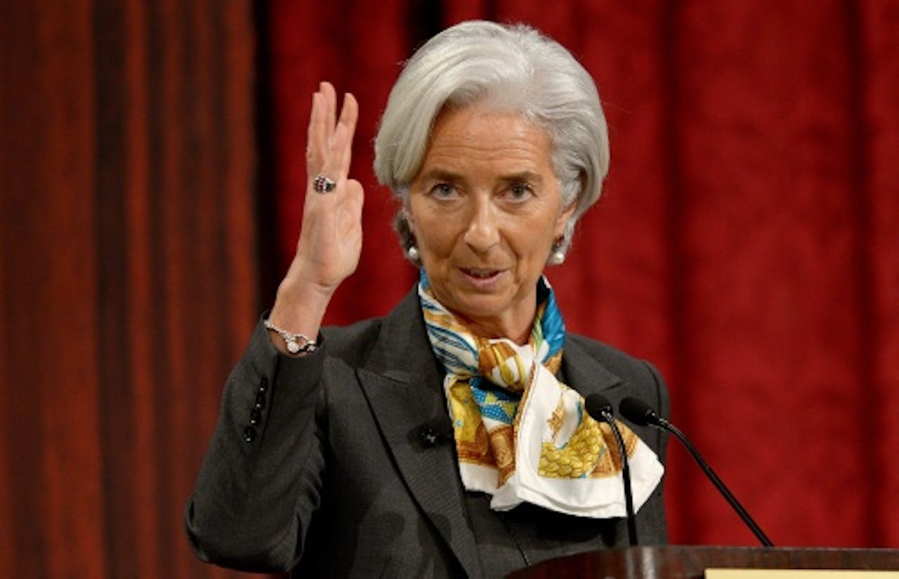 Christine Lagarde. EPA