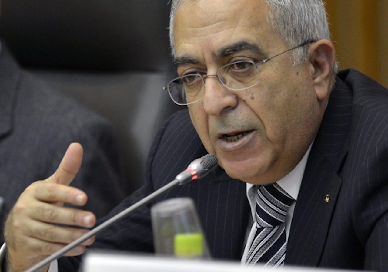 Archiefbeeld van Salam Fayyad. EPA
