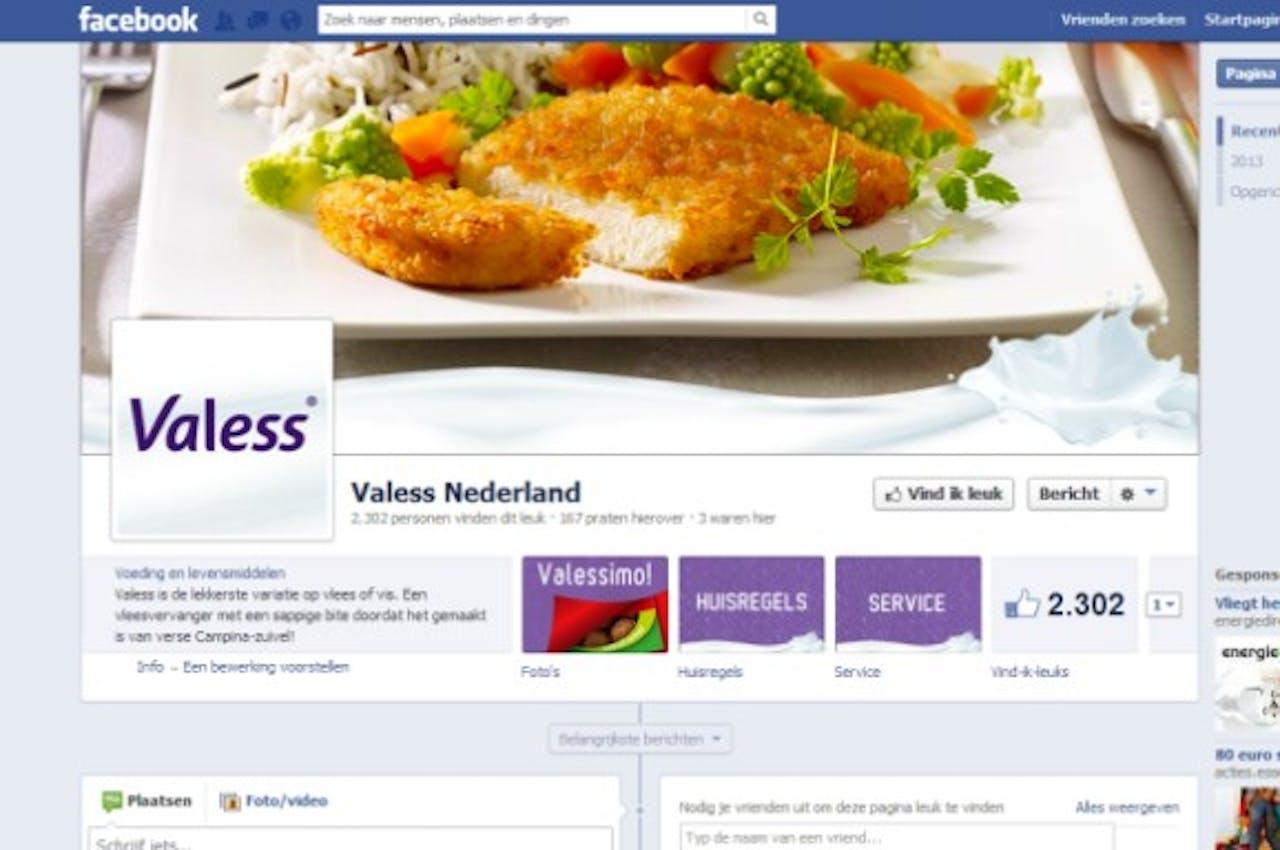 Valess wil meer interactie met doelgroep via sociale media