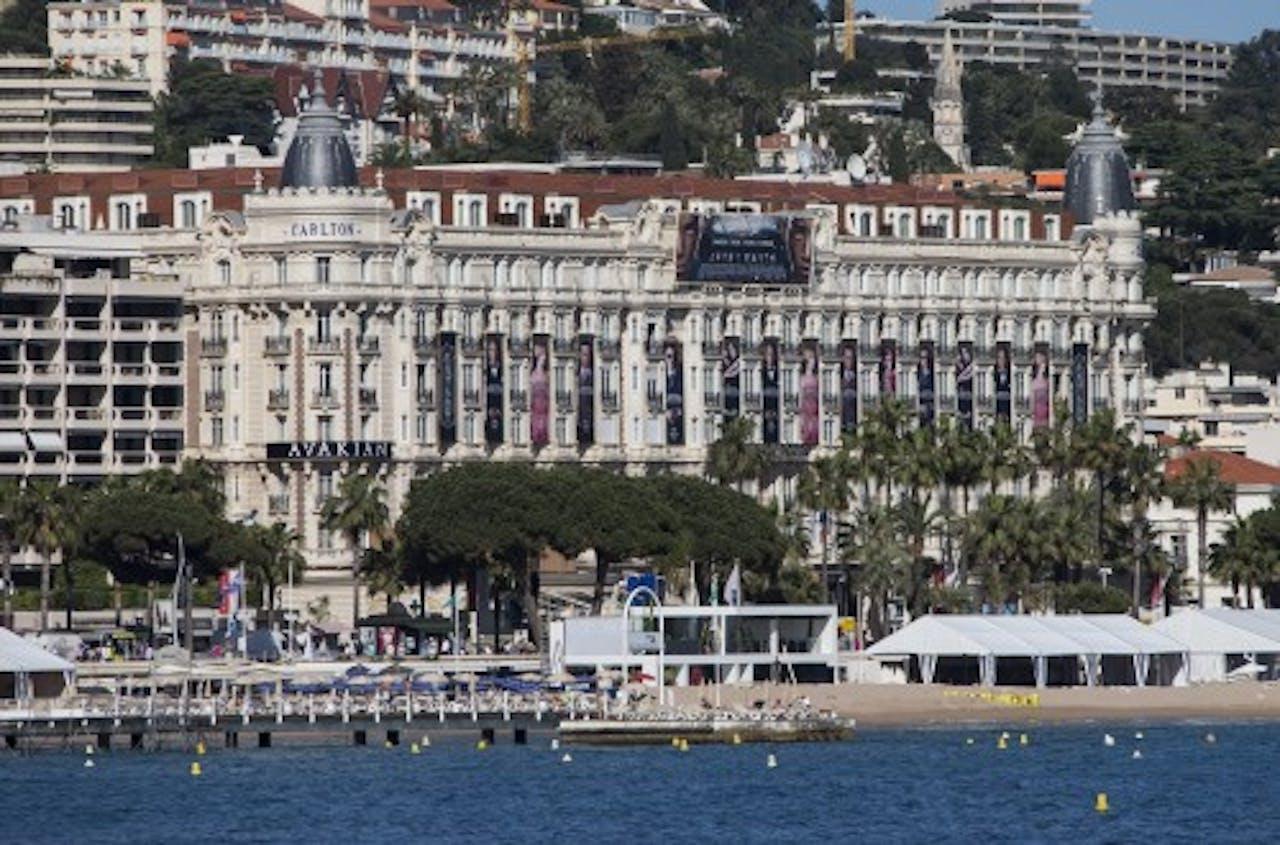 Het Carlton Hotel in Cannes op archief, EPA