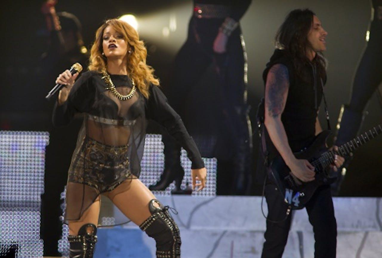 Rihanna in Ziggo Dome. ANP Kippa