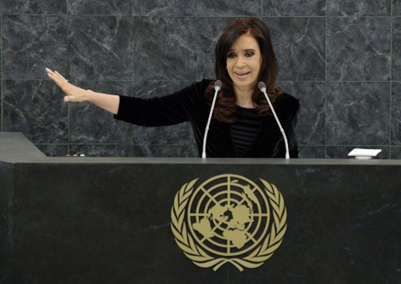 Cristina Fernández de Kirchner. EPA