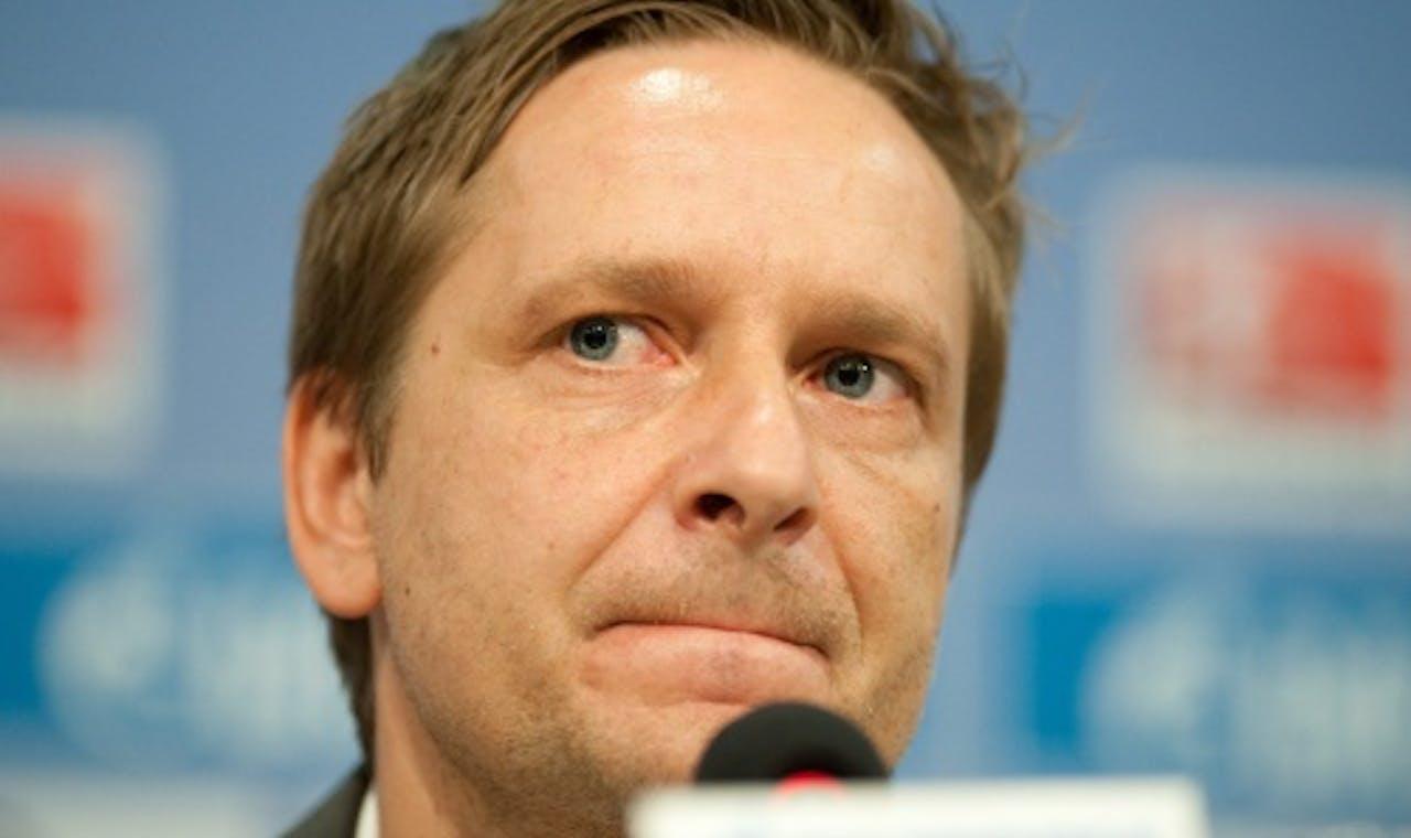 Horst Heldt. EPA
