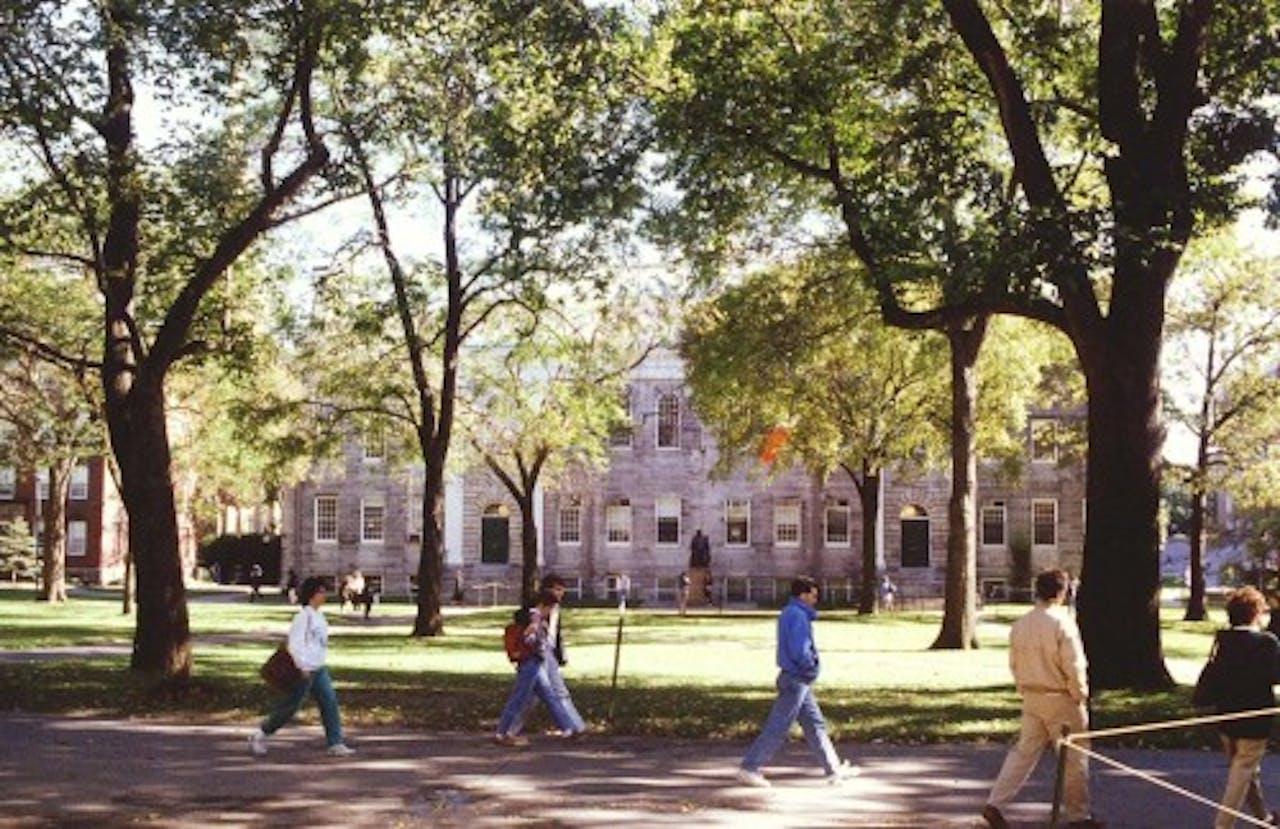 Archieffoto Harvard 1991. EPA