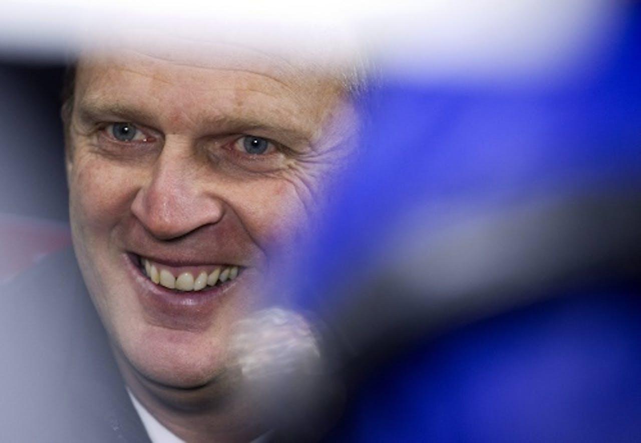 Anderlecht-trainer John van den Brom, ANP