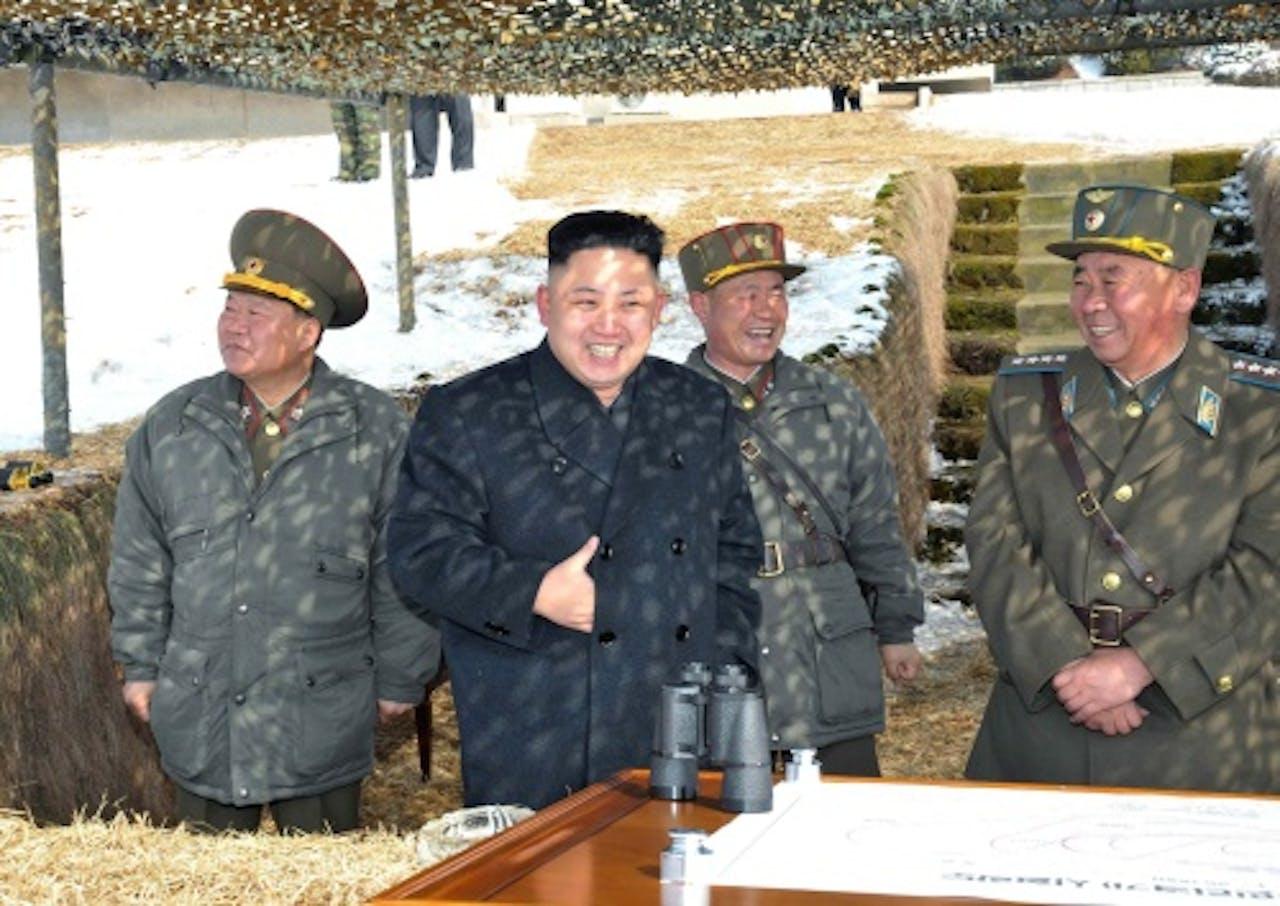 Kim Jong-un. EPA