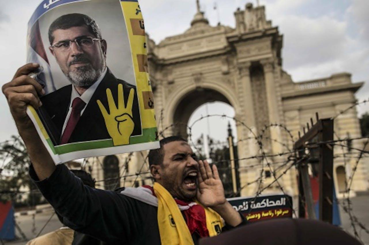 Aanhanger van de Moslimbroederschap. EPA