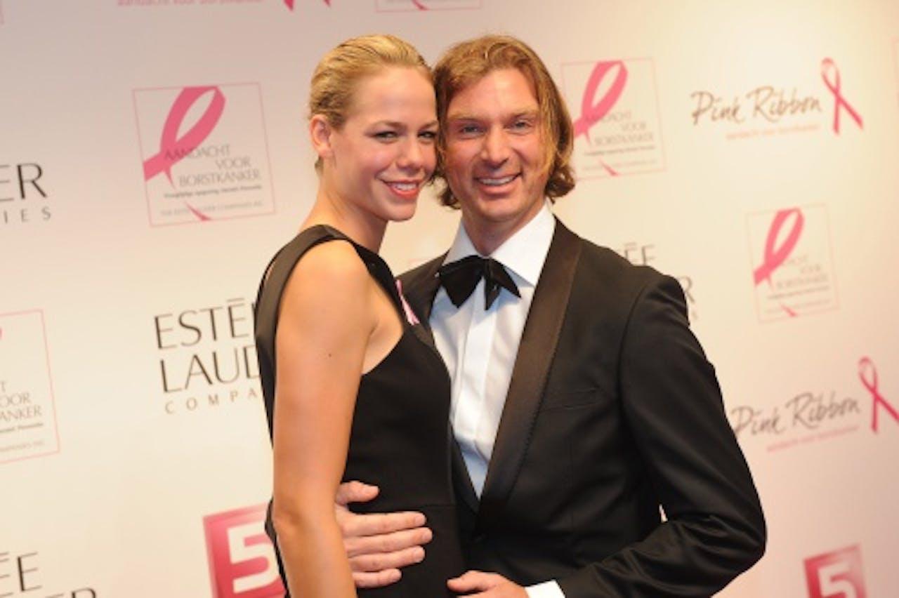 Nicolette Kluijver met haar man Joost. ANP Kippa