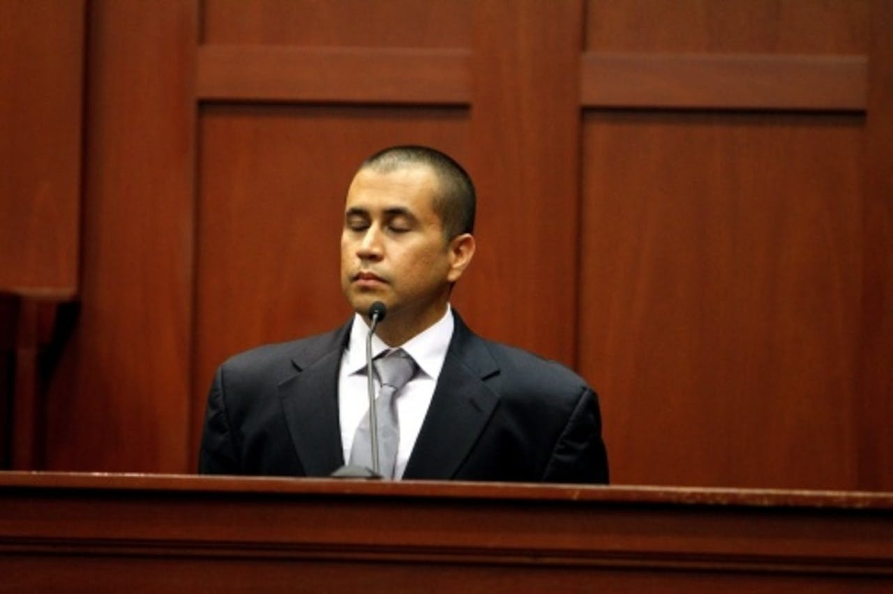 Buurtwacht George Zimmerman. EPA