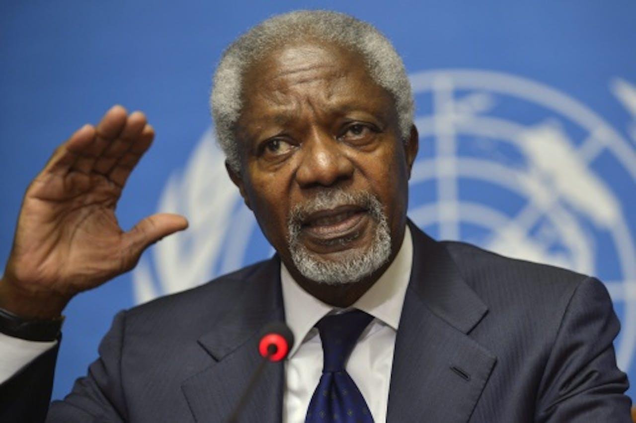 Kofi Annan. EPA