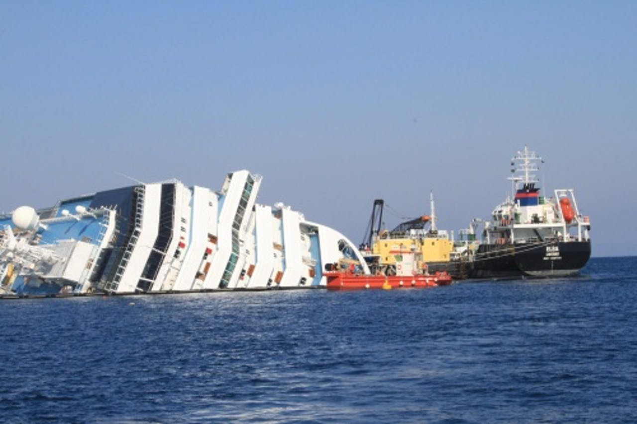 Cruiseschip Costa Concordia (archieffoto, 13 februari 2012). EPA